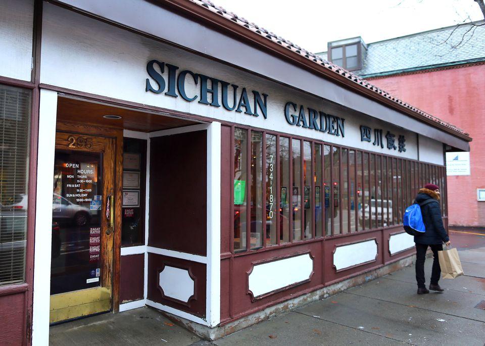 Sichuan Garden in Brookline.
