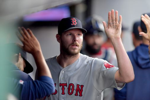 Chris Sale, inching closer to throwing, tries to find the upside of his delayed Tommy John rehab - The Boston Globe