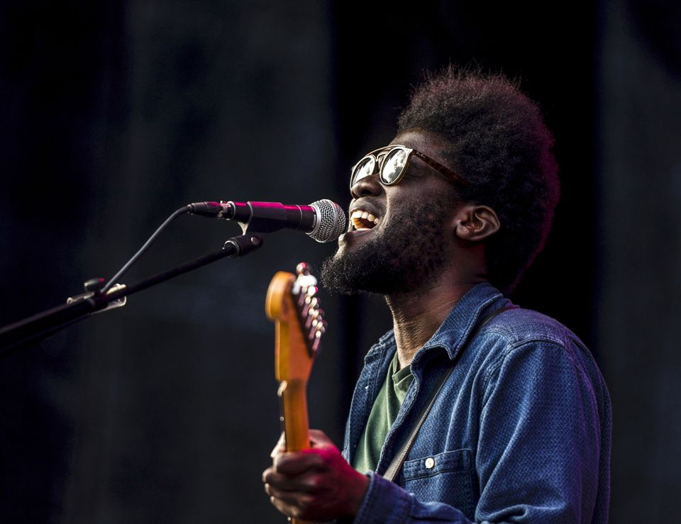 Michael Kiwanuka (pictured at a July performance in Stockholm) plays at Royale Nov. 29.