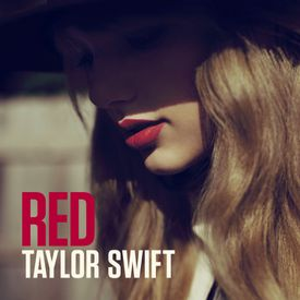 """The cover of Taylor Swift's """"Red."""""""