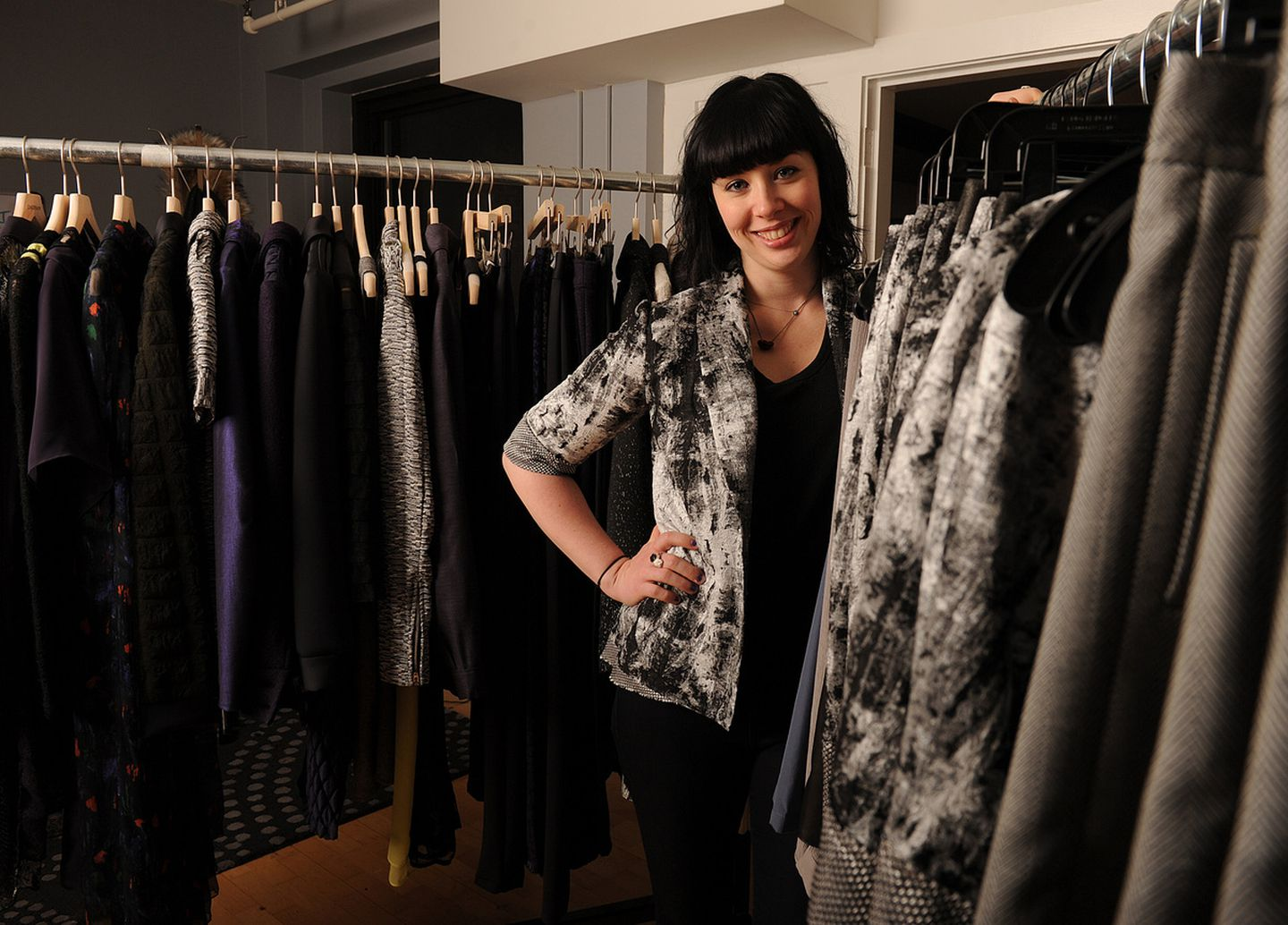 A Fast Track To Fashion Week Runways For Local Designer The Boston Globe