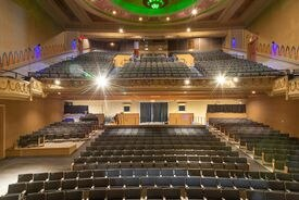 """The Cabot Theatre in Beverly will host a screening of """"Backto the Future"""" on Wednesday."""