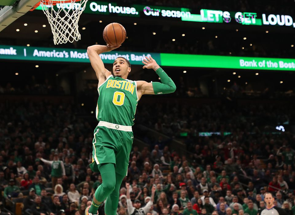 The Celtics used the No. 3 pick in the 2017 draft — acquired from the 76ers for the top pick — to land Jayson Tatum.