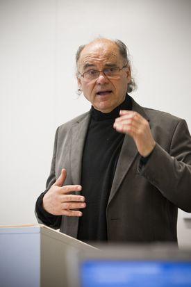 Makiya Kanan, expert on Iraq and professor at Brandeis University.