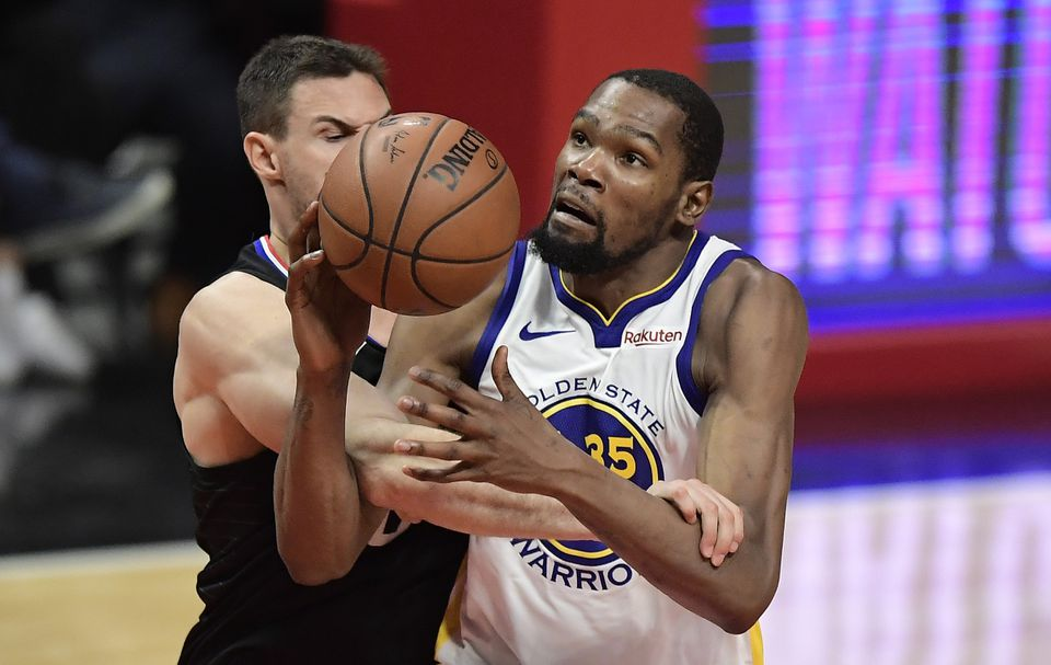 d07513e02f69 Kevin Durant scores 50 as Warriors rid themselves of Clippers - The ...