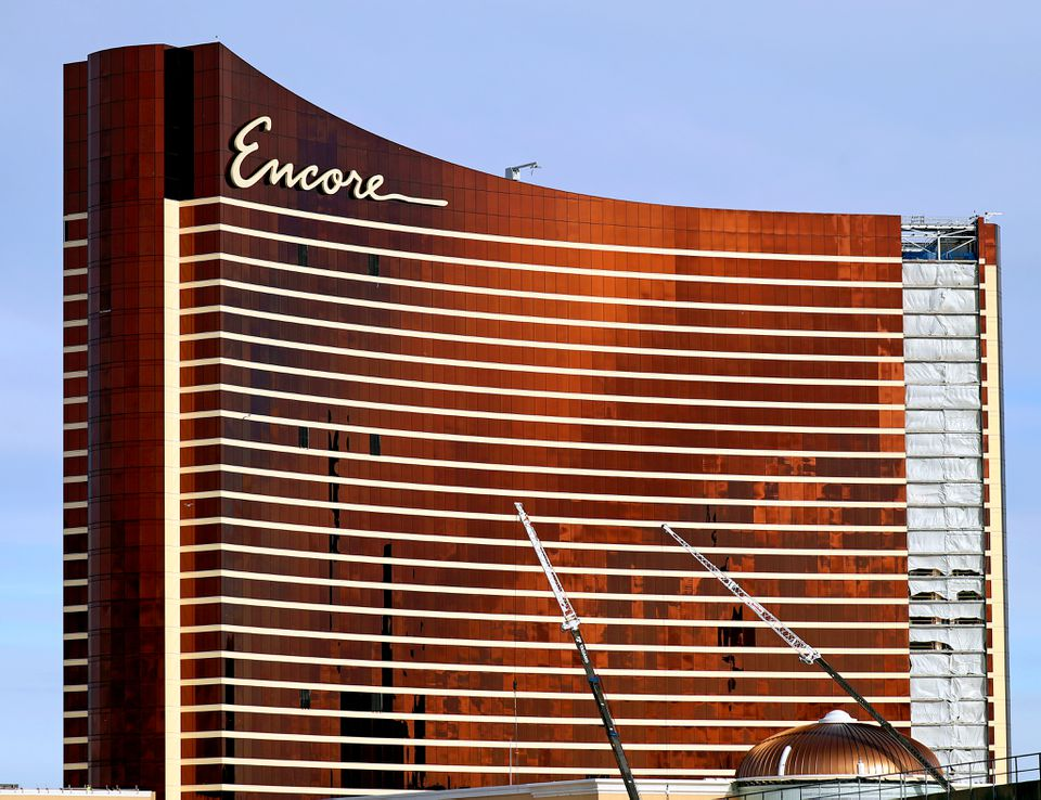The Encore Boston Harbor is on track to open in June.
