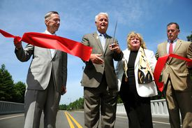 William Delahunt,  a former congressman, has maintained strong ties to South Shore constituents and projects.