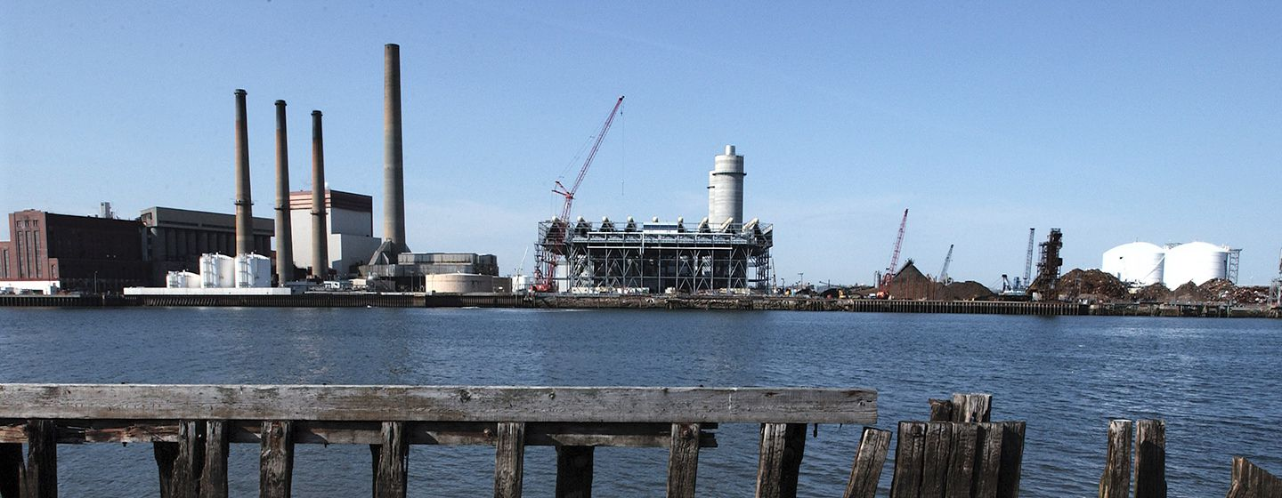 The Mystic Power Plant in Everett is owned by Exelon Corporation.