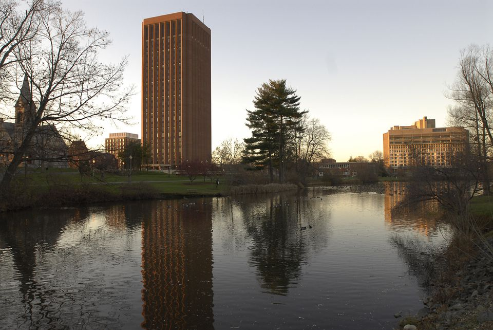 Under the new proposal, tuition and fees at UMassAmherst would rise to $11,684.