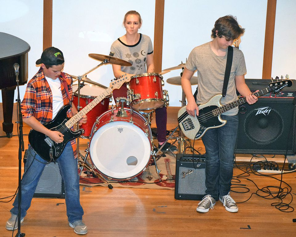 The South Shore Conservatory is holding a rock camp for April vacation week in Duxbury.