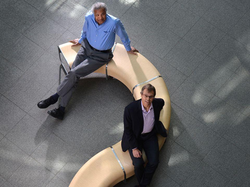 Ravi Chari (top) and John Lambert helped to develop Kadcyla at ImmunoGen.