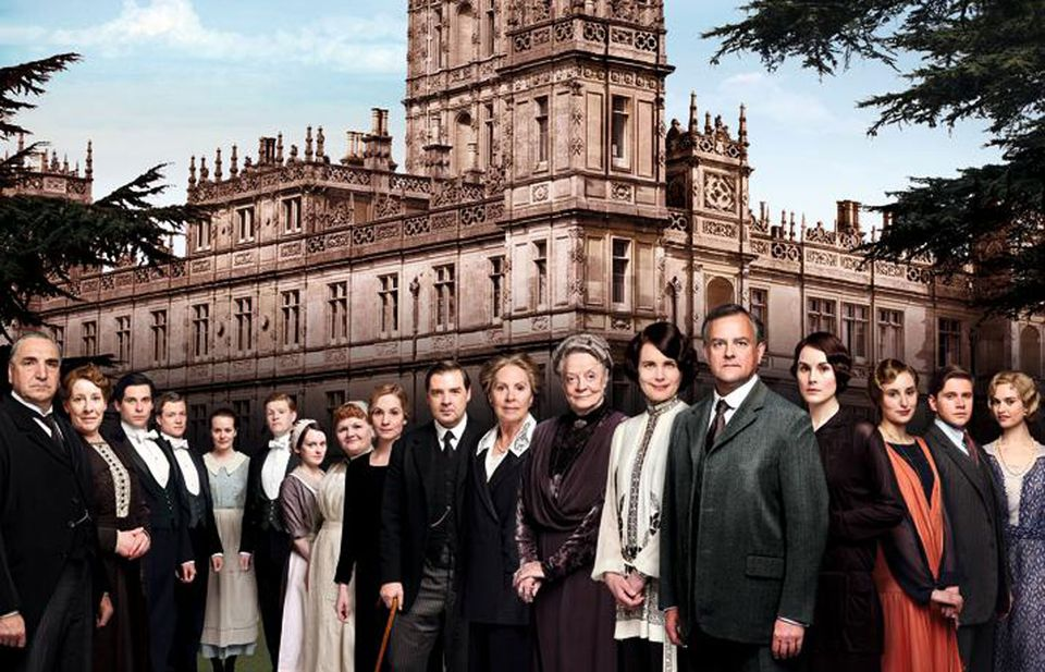 "The cast of ""Downton Abbey."""