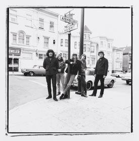 The Grateful Dead in San Francisco's Haight-Ashbury neighborhood in 1967.