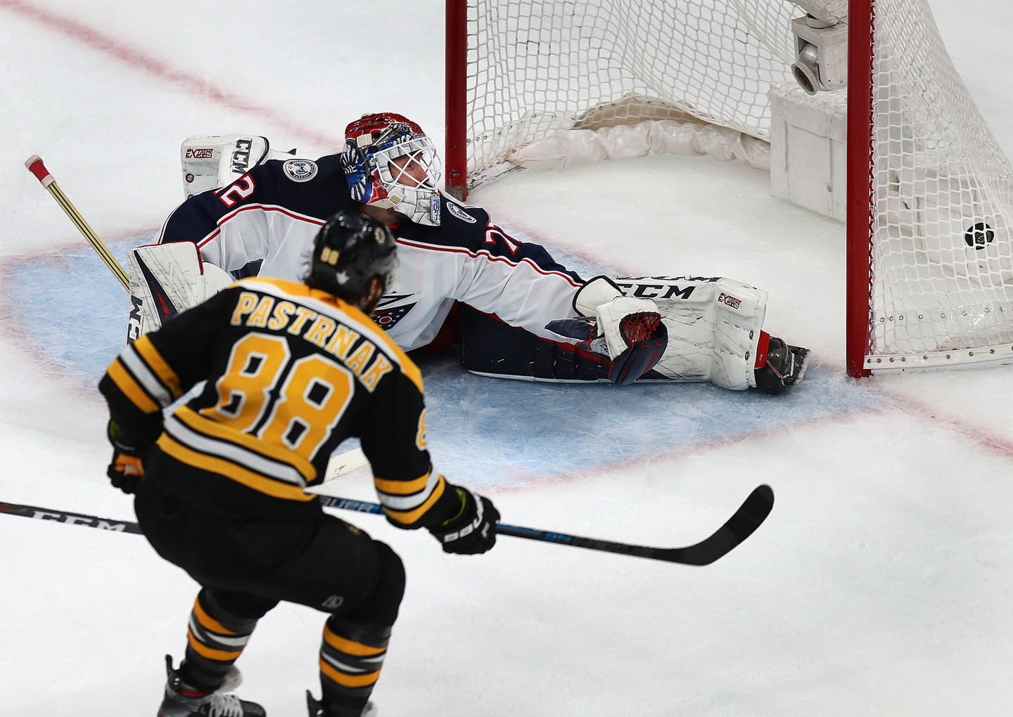 National Hockey League playoffs 2019: Bruins' top line now making all the difference vs