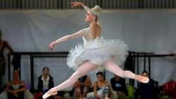 Dusty Button, seen in 2016, is a well-known ballerina with a sizable social media following.