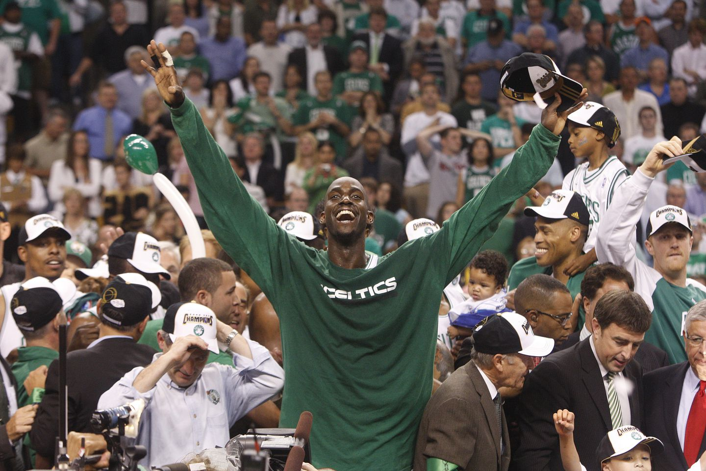 Kevin Garnett has plenty of stories from the NBA. Now it's time to ...