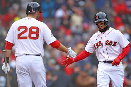 factory price 42227 7579d Mookie Betts, J.D. Martinez named to AL All-Star team - The ...