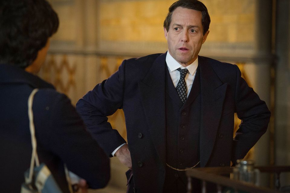 Hugh Grant plays British MP Jeremy Thorpe, arrested on charges of conspiring to murder a male ex-lover.