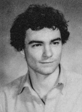Tim Kaine's 1983 Harvard Law School Yearbook photo.