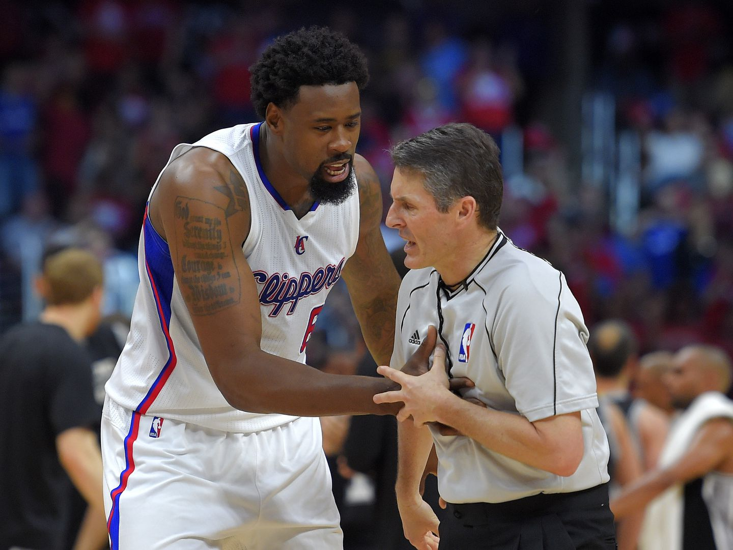 The Story Of Deandre Jordan Was Best Told By Twitter The