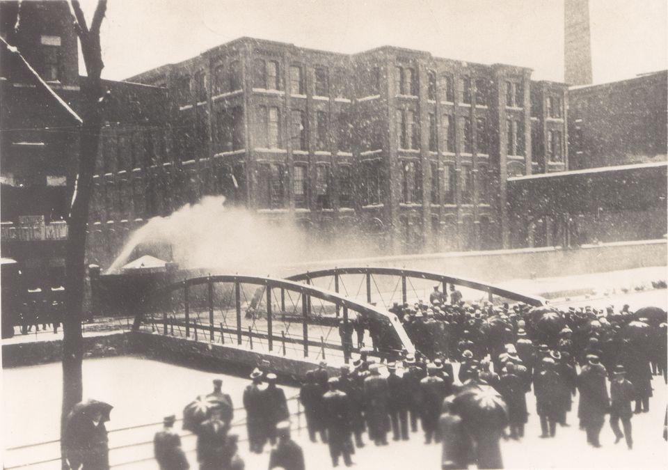 """The 1912 Bread and Roses strike in Lawrence is historically significant because """"it's one of the first times in labor history in the country that so many different nationalities, different languages, religions, cultures, were able to figure out a way to unify themselves,"""" said Robert Forrant, a labor historian."""