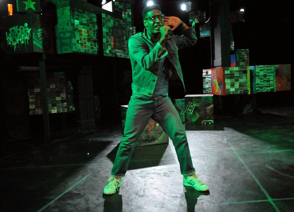 """Kadahj Bennett as young rapper Hank in Company One's """"How We Got On.''"""