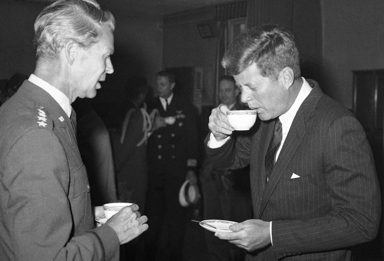 Presidential history on coffee - The Boston Globe