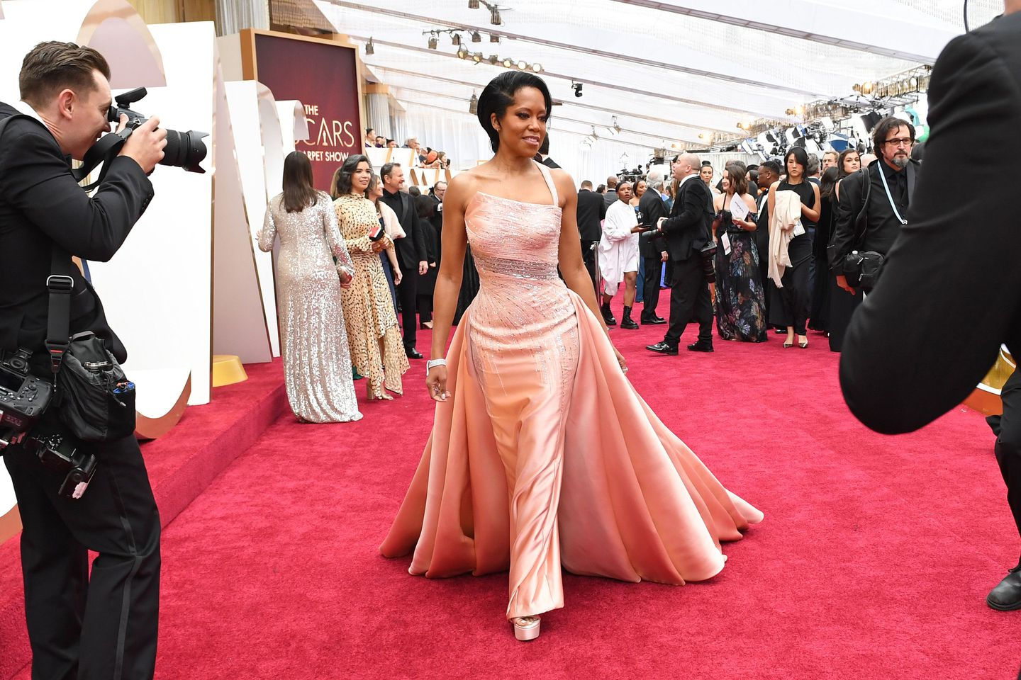Hits And Misses On The Oscars Red Carpet The Boston Globe