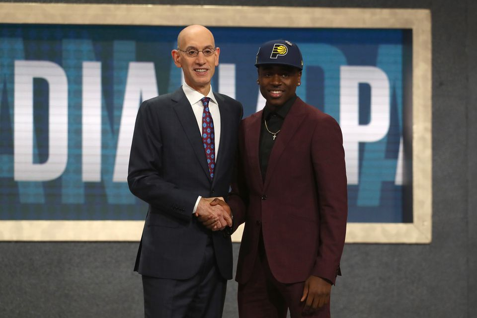Aaron Holiday was the 23rd pick in the 2018 draft.