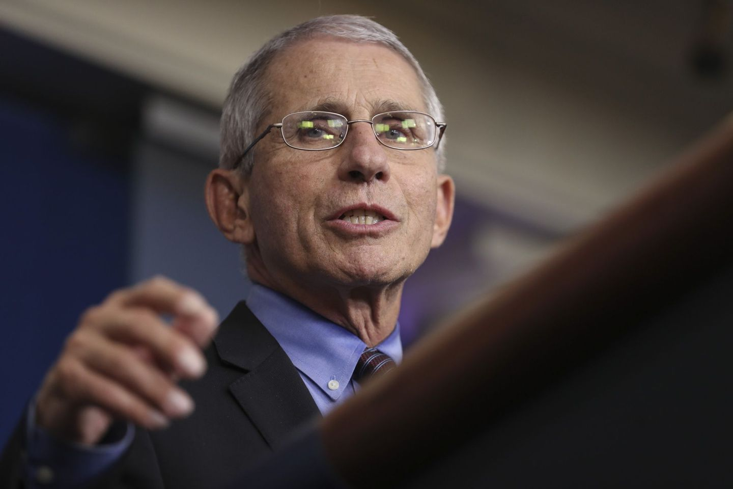FAUCI: US HEADING THE WRONG DIRECTION