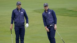 Longtime friends Jordan Spieth (left) and Justin Thomas could be a formidable duo for the US.