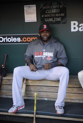 After Tuesday's whirlwind day in Washington, David Ortiz prepared to face the Orioles Wednesday.