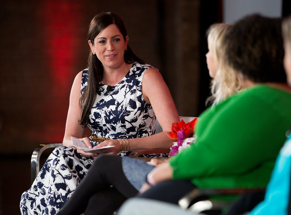 Sarah Spain hosted a panel during an espnW event in April 2016 in Chicago.