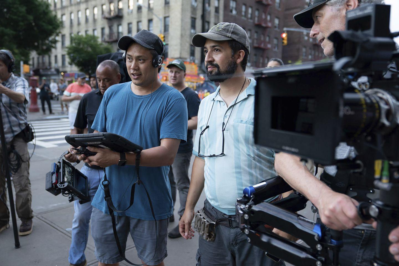 Director Jon M. Chu and Co-writer Lin-Manuel Miranda