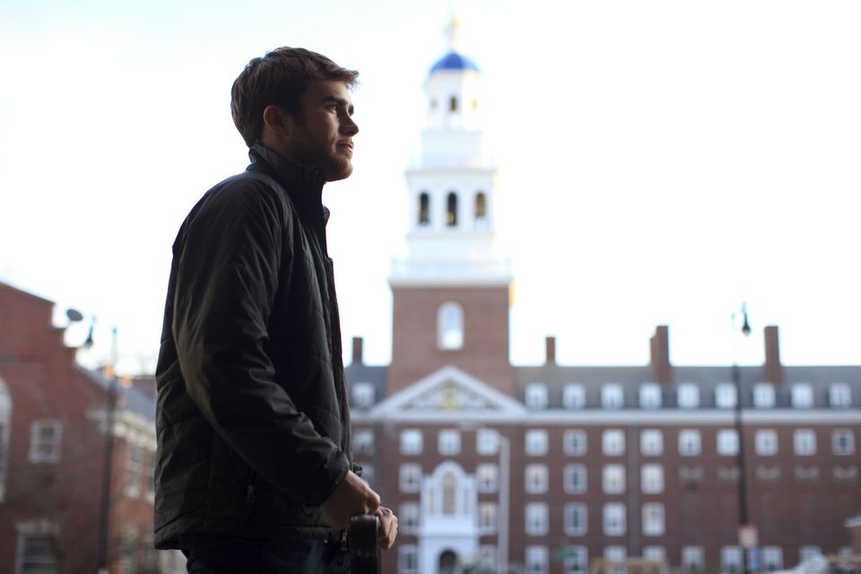 The son of an MBTA bus driver from Jamaica Plain, Harvard sophomore Ted White helps lead the First Generation Student Union, pushing for a better understanding of challenges financially disadvantaged students face.