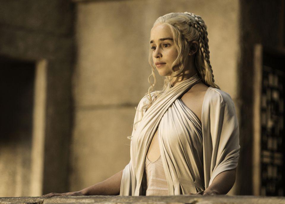 "Emilia Clarke in HBO's ""Game of Thrones.''"