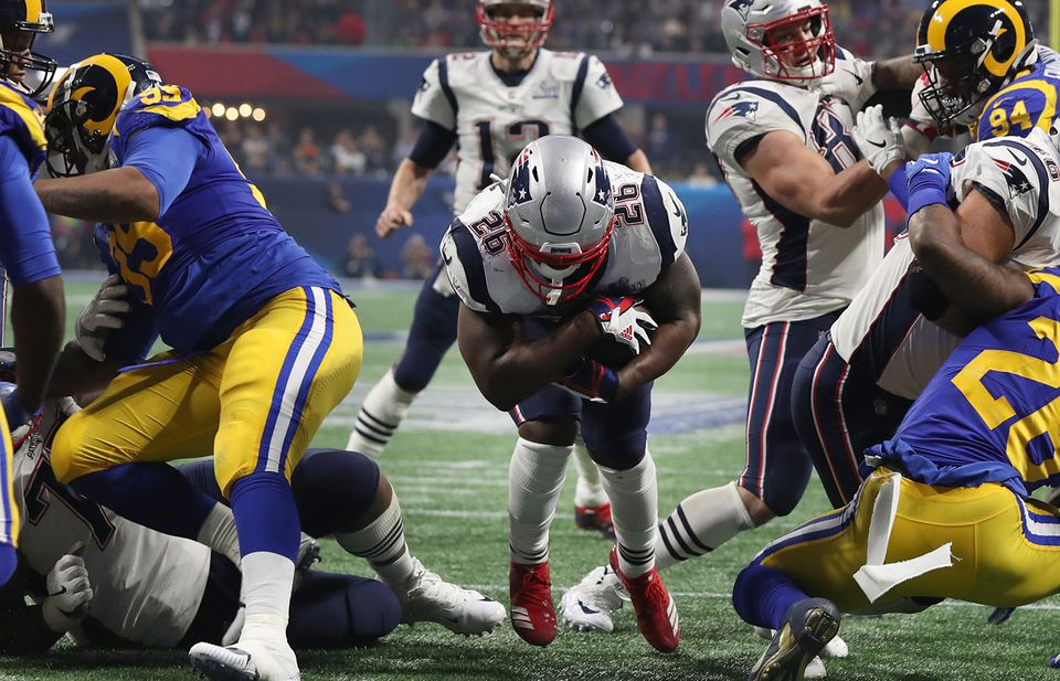 Sony Michel's fourth-quarter touchdown sealed the Patriots' Super Bowl 53 victory.
