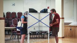 Boston residents took advantage of early voting in the preliminary election in September, casting their votes at St. Nectarios Greek Orthodox Church in Roslindale.
