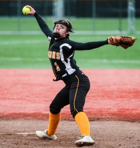 Latin Academy's Olivia McGrath struck out a career high 19 batters in a 7-2 victory over O'Bryant to win the Boston City League title.
