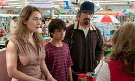 """Kate Winslet, Gattlin Griffith, and Josh Brolin in the movie """"Labor Day."""""""