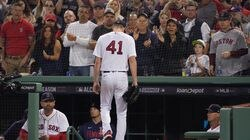 Chris Sale received a hand as he exited with one out in the sixth inning.