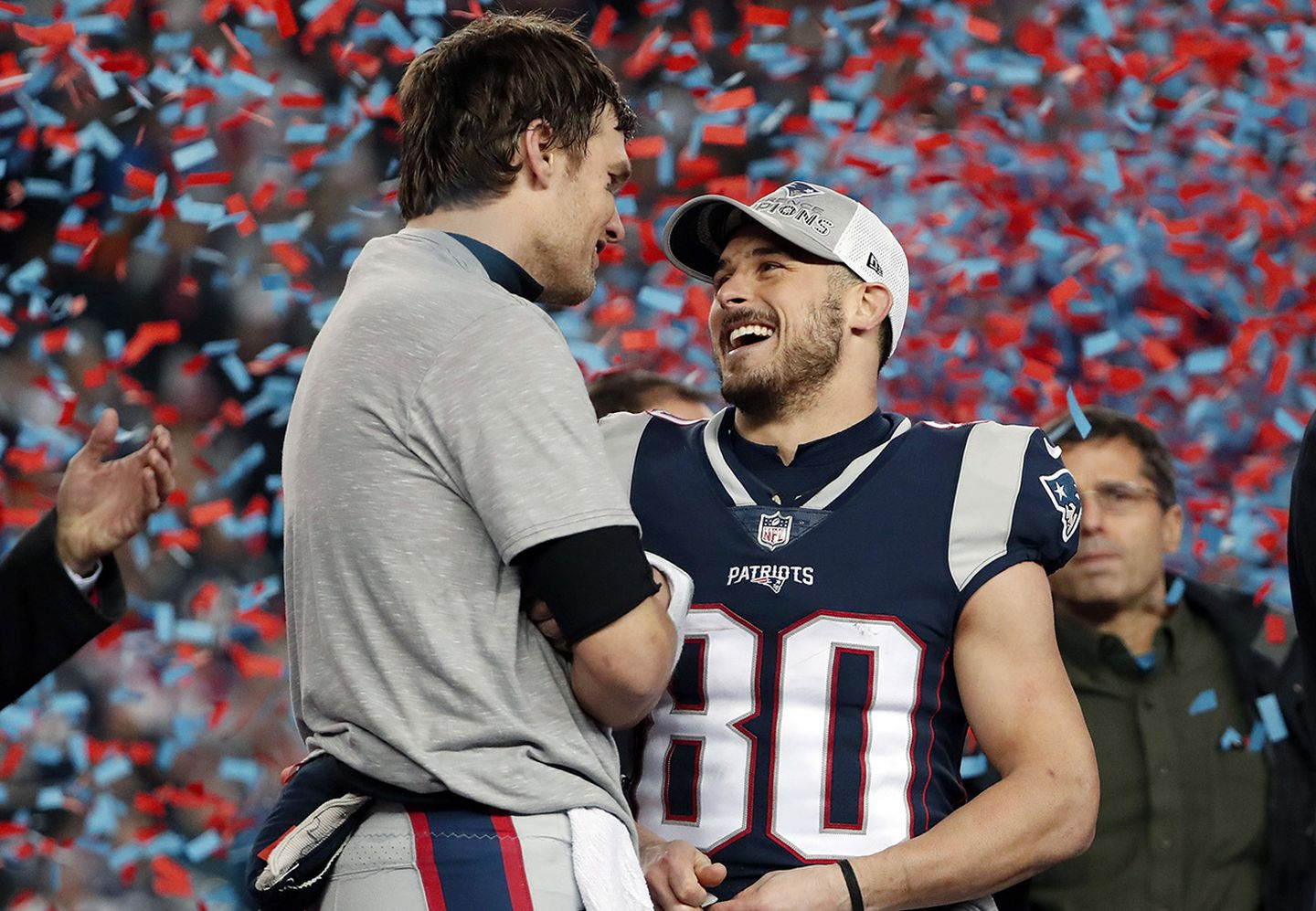 Tom Brady Can T Be Pleased To Lose Danny Amendola And Dion