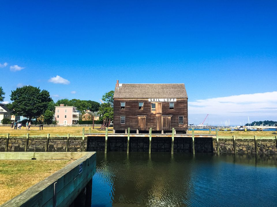Old Sail Loft at the Salem Maritime National Historic Site.