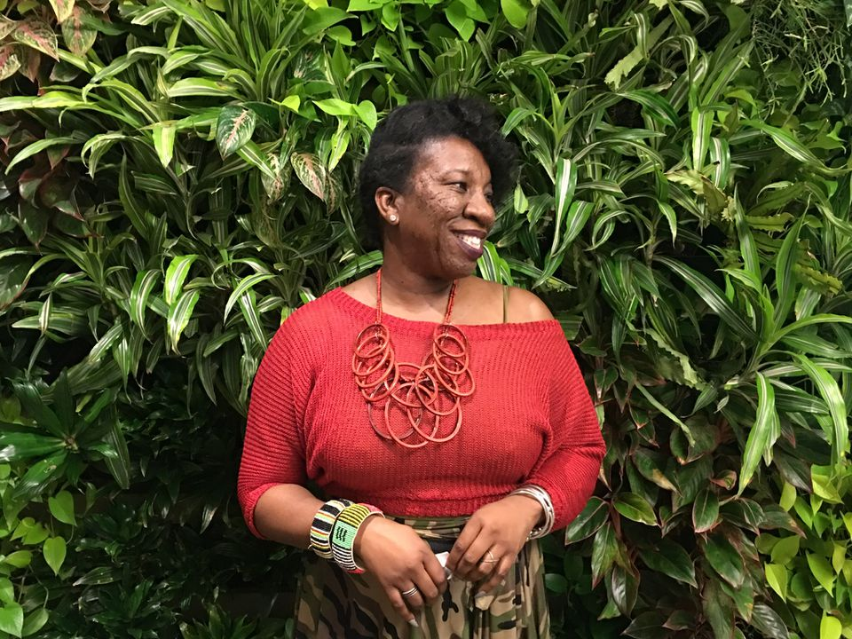 "Tarana Burke, the activist who founded the ""Me Too"" movement."