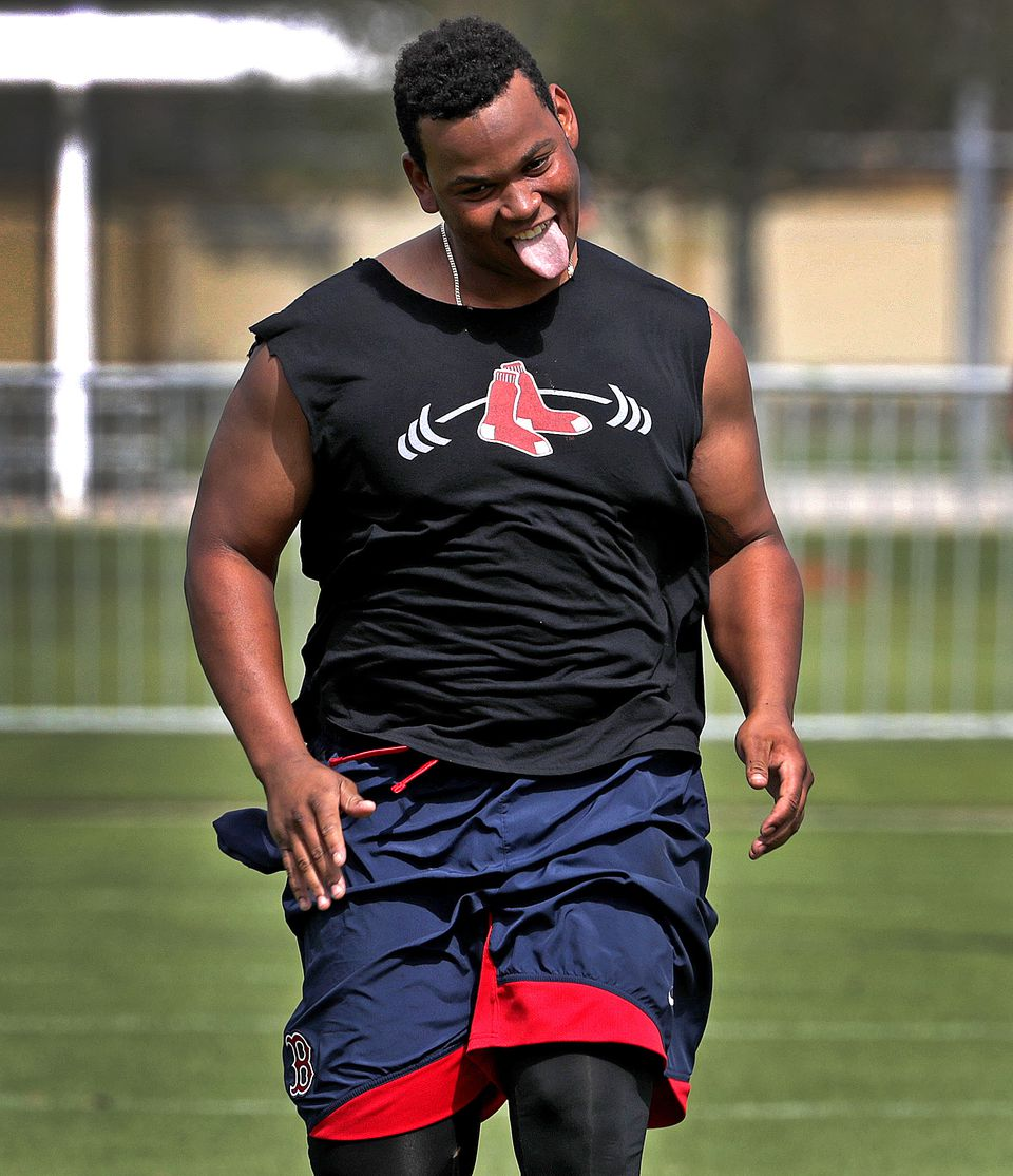Prospect Rafael Devers needs to watch his weight, much like another Red Sox third baseman.