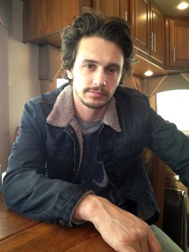 """James Franco, who released a collection of stories in 2010, is out with his first novel, """"Actors Anonymous."""""""