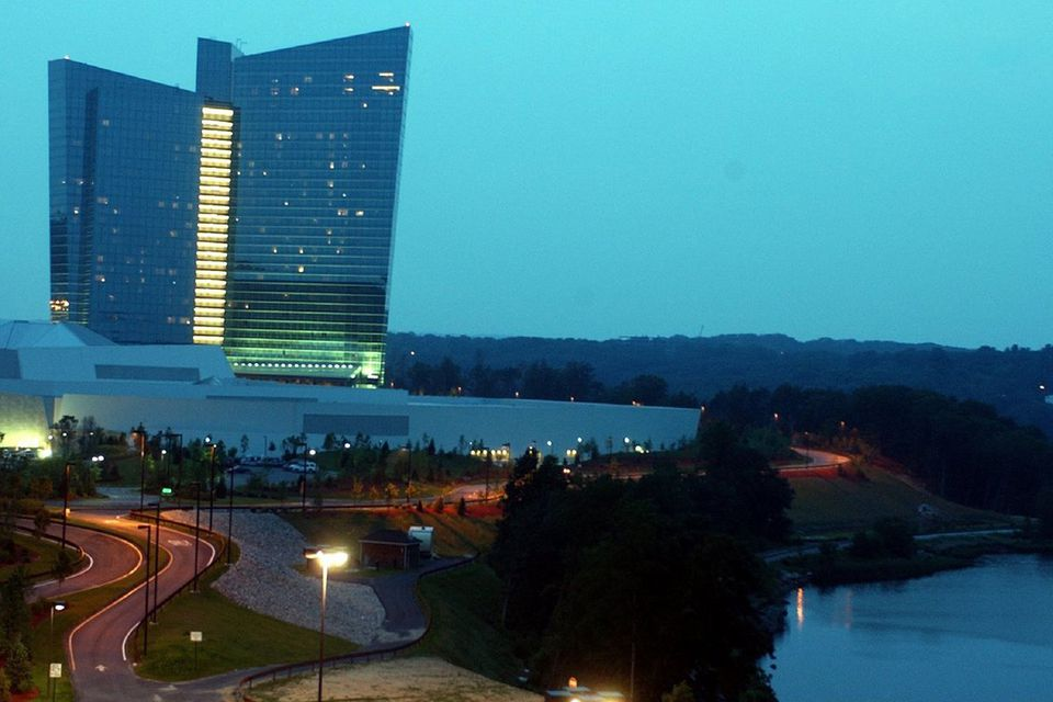 Mohegan Sun currently operates a hotel and casino (above) in Uncasville, Conn.