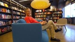 David Sandberg is co-owner of Porter Square Books  Grub Street Center for Creative Writing and Porter Square Books Boston Edition  (shown) are sharing a new space in the Seaport District.