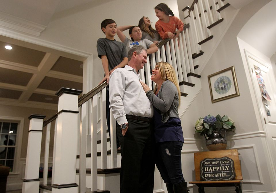 Peter Butler and Melissa Ananias, getting married next month, met in a Wrentham jury room.