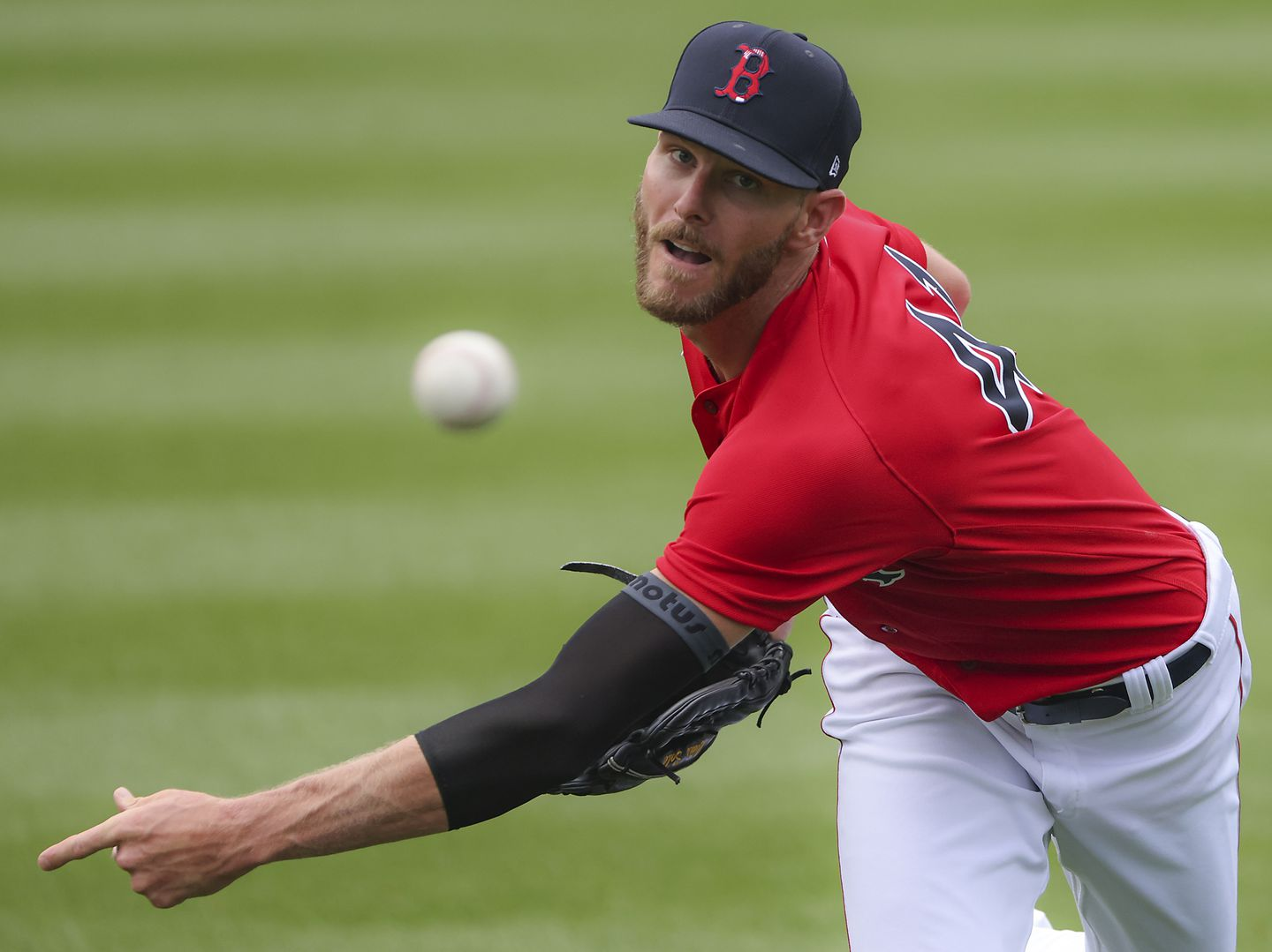 Red Sox ace Chris Sale inches closer to return after rehab start - The  Boston Globe